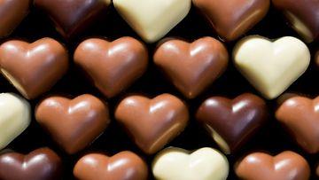 Suklaasydämiä