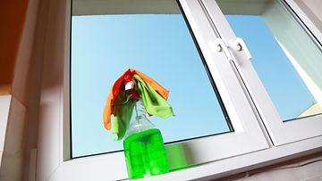 ikkunan puhdistus