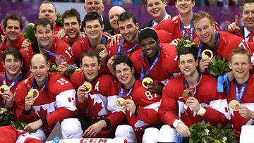 Kanada oli ylivoimainen Sotshin olympiajääkiekossa.
