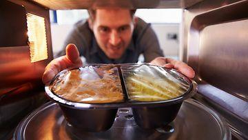 Mikro ruuan lämmitys