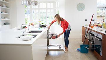 keittiön siivous