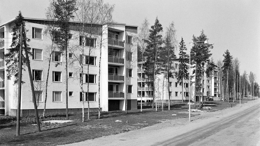 50 Luvulla rakennetut talot