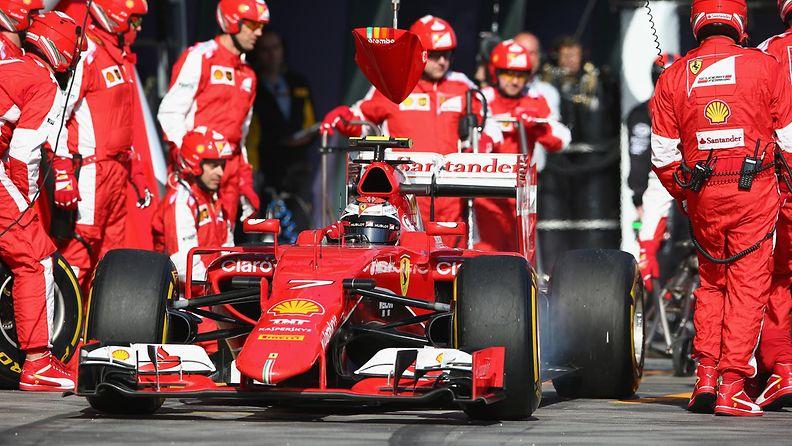 Kimi Räikkönen, 2015, Ferrari, Australia