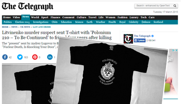 The Telegraph ruutukaappaus
