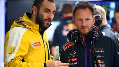 Cyril Abiteboul ja Christian Horner
