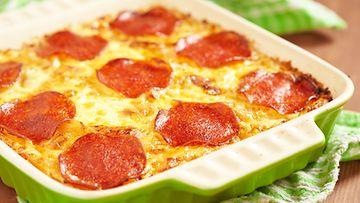 Pizza-pastalaatikko