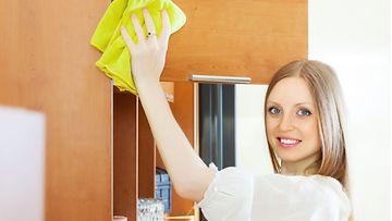 keittiö, siivous