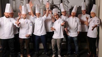 Vuoden kokki -kilpailun semifinalistit 2015