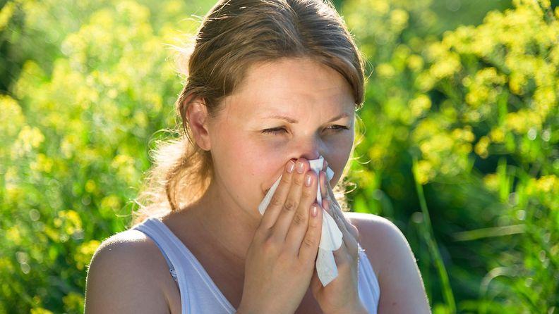 Naisella on allergia (1)
