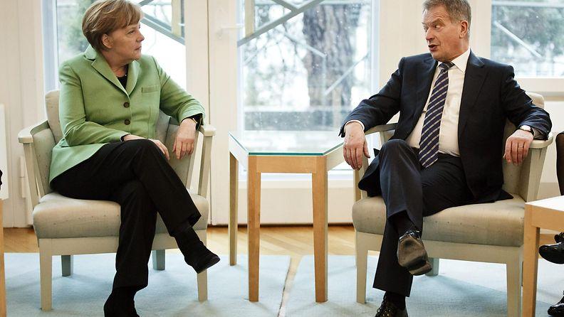 Niinistö Merkel
