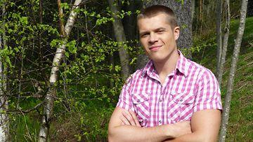 MTV Uutisten meteorologi Markus Mäntykannas