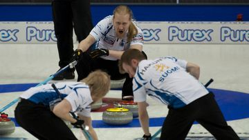 curling suomi c michael burns