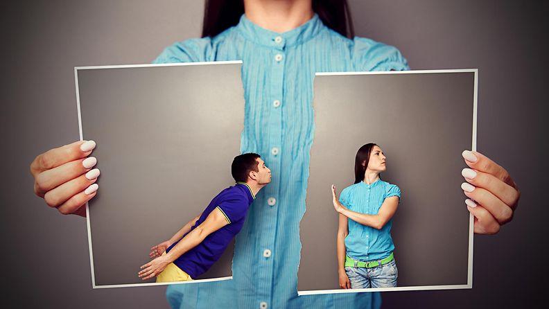 Nainen repii kuvan pariskunnasta7