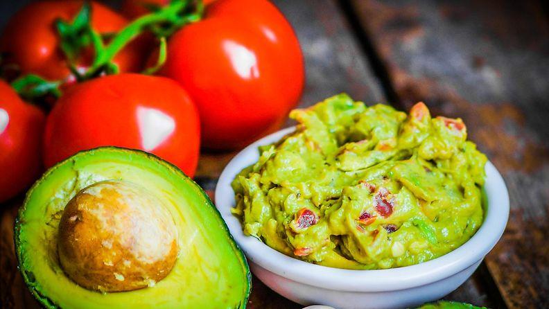 avokado, guacamole