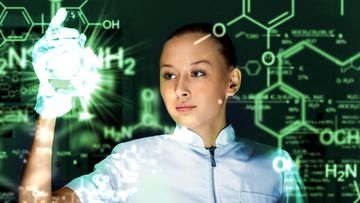 Kemisti työssään