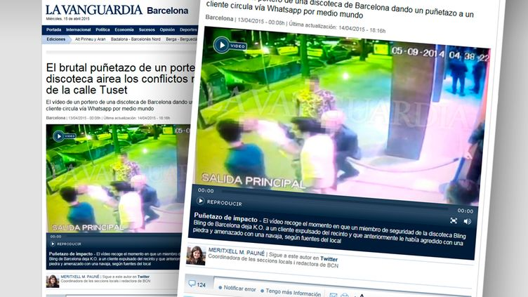 la vanguardia barcelona video