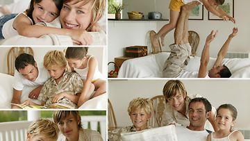 Kollaasi perhekuvista (1)