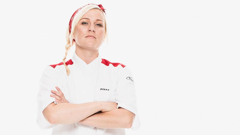 Hell's Kitchen Suomi -kilpailija Riikka Pulli.