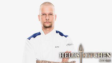 Hell's Kitchen Suomi -kilpailija Arttu Esko.
