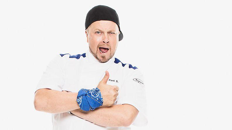 Hell's Kitchen Suomi -kilpailija Pasi Sämpi.