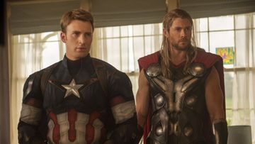 Avengers: Age of Ultron - Chris Evans & Chris Hemsworth