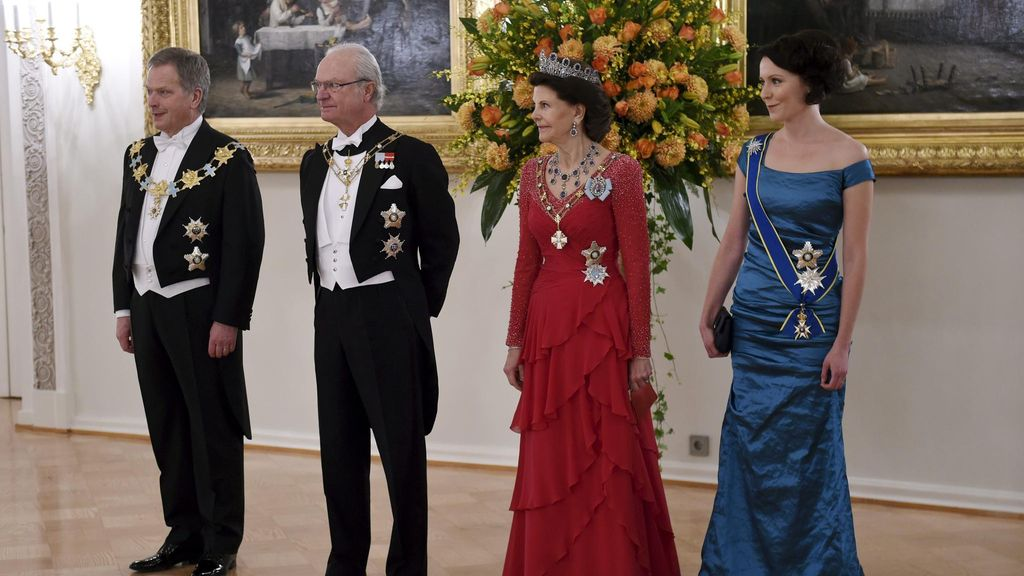 Niinistö ja Haukio Ruotsiin – konserttiin kuninkaan ja kahden kuningattaren kanssa - Viihde - MTV.fi