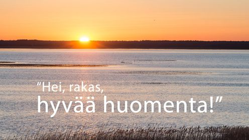 huomenta
