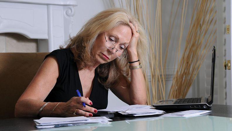 Työnhakija yli 50-vuotias