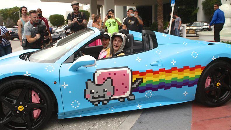 Deadmau5in Nyan Cat -auto