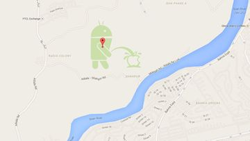 google-kartta -kuvakaappaus
