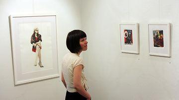 Tiina-Maria Aallon KUORI -näyttely Galleria Saimassa (7)
