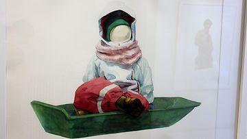 Tiina-Maria Aallon KUORI -näyttely Galleria Saimassa (9)