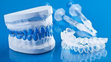 valkaisu, hampaat