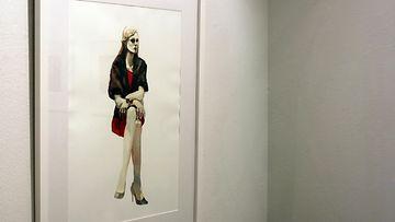 Tiina-Maria Aallon KUORI-näyttely helsinkiläisessä Galleria Saimassa