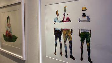 Tiina-Maria Aallon KUORI-näyttely helsinkiläisessä Galleria Saimassa (1)