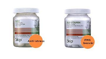 Kahdessa ravintolisässä B6-vitamiinia haitallisen suuria määriä