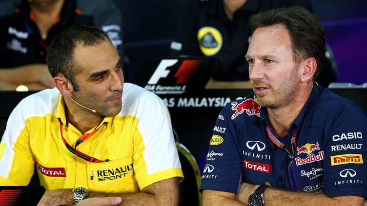 Christian Horner  Cyril Abiteboul