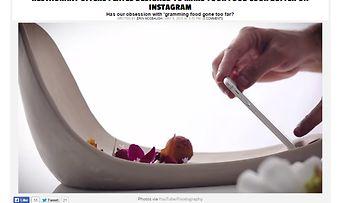 Instagram lautanen