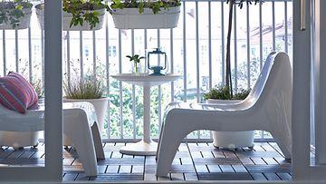 N in valitset puutarhakalusteet katso vinkit lifestyle for Mobiliario balcon