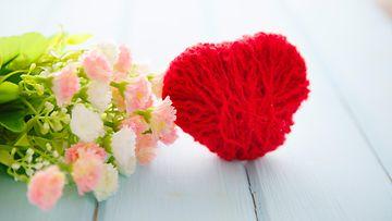 Kukkia ja sydän