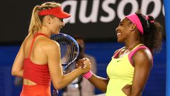 Maria Sharapova ja Serena Williams