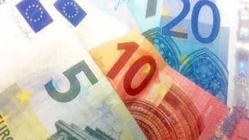 rahaa, eurot
