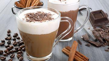 maustettu kahvi