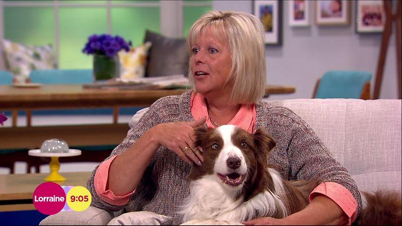 Britain's Got Talent voittaja O'Dwyer Matisse-koiransa kanssa. Vai onko se Matisse?