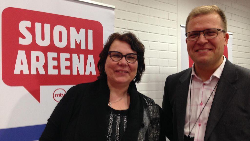 SuomiAreena on kohtauspaikka ilman turhia muodollisuuksia