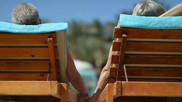 Matkailijatyyppi eläkeläinen