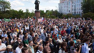 Moskova mielenosoitus