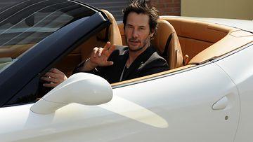Keanu Reeves Ferrari