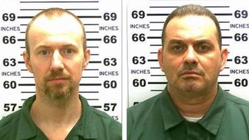Richard Matt (vas.) ja David Sweat.
