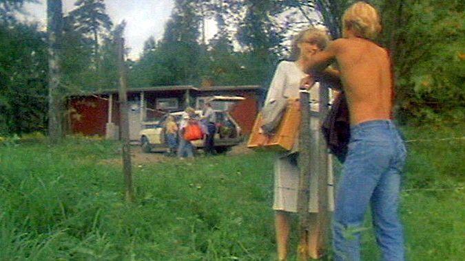"""""""Maitoa maalta"""", lupali Valio vuonna 1982."""
